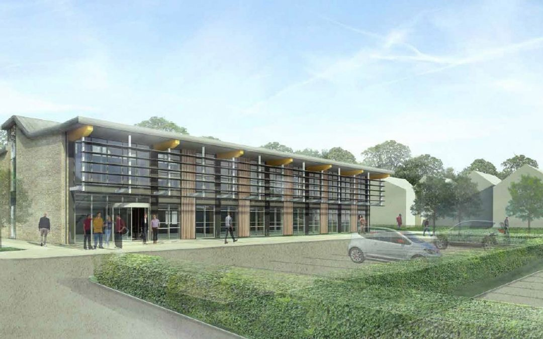 Construction begins on the Trent Lodge Innovation and Enterprise Centre